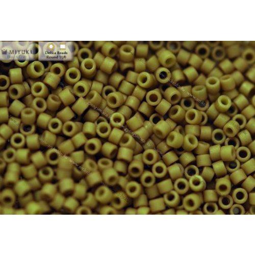Delica gyöngy 11/0, DB0390, telt zöldtea, 4g