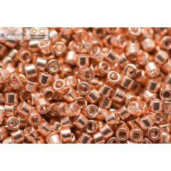 Delica gyöngy 11/0, DB0411, sárga arany színű, 4g