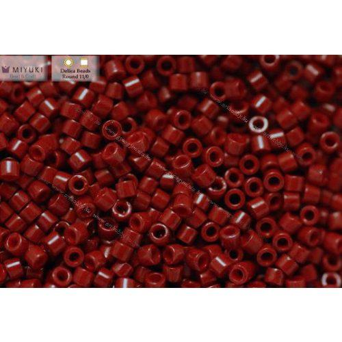 Delica gyöngy 11/0, DB0654, telt vörösáfonya, 4g