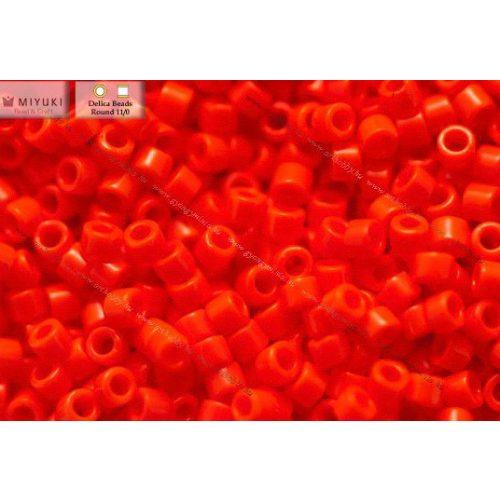Delica gyöngy 11/0, DB0727, vil.piros, 4g