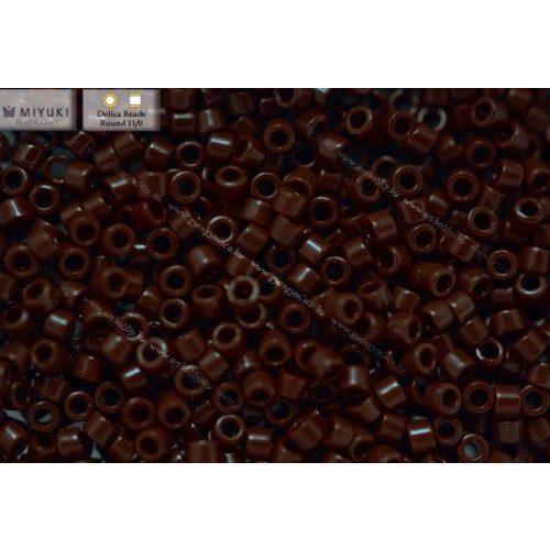 Delica gyöngy 11/0, DB0734, telt csokoládé barna, 4g