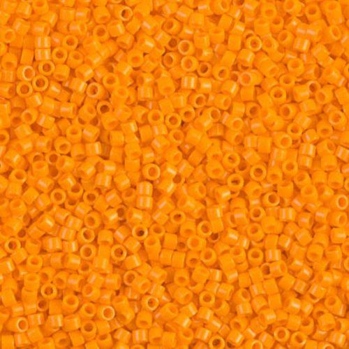 Delica gyöngy 11/0, DB1133, telt mandarin, 4g