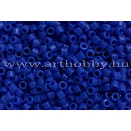 Delica gyöngy 11/0, DB1138, telt cián kék, 4g