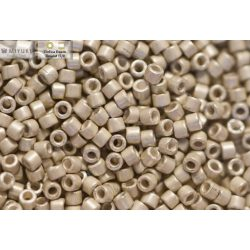 Delica gyöngy 11/0, DB1151, fagyos galvanizált ezüst, 4g
