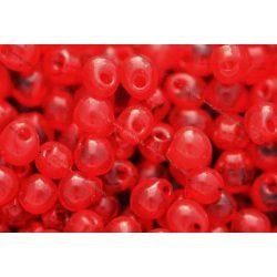 Drop gyöngy, átl. piros, 5g