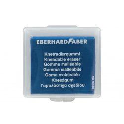 Radír Eberhardfaber gyúrható - műa. dobozban - kék