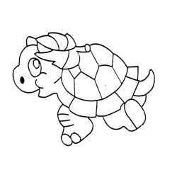 Fényvarázsforma, teknős