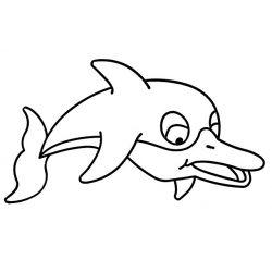 Fényvarázsforma, delfin