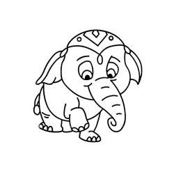 Fényvarázsforma, elefánt