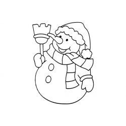 Fényvarázsforma, hóember