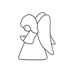 Fényvarázsforma, angyal