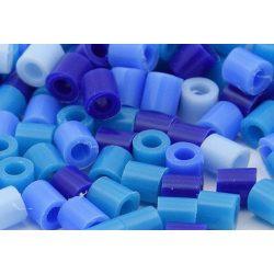 Vasalható gyöngy, kék mix