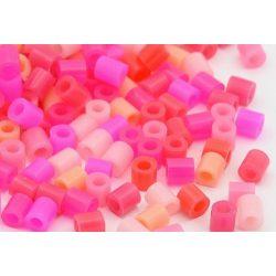 Vasalható gyöngy, pink  mix