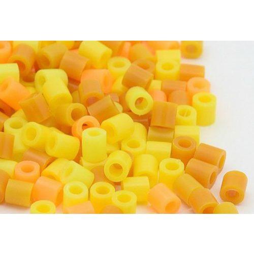 Vasalható gyöngy, sárga mix