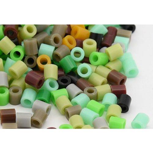 Vasalható gyöngy, zöld mix