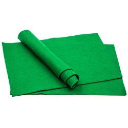 Filc puha A4, zöld