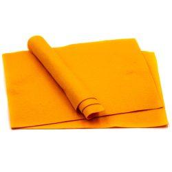 Filc puha A4, narancssárga
