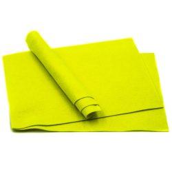 Filc puha A4, neon zöld