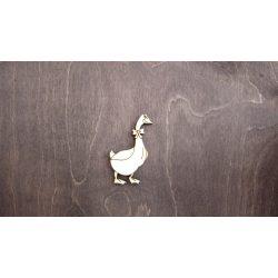 Fa figura - Liba, lézervágott, 40x60x4 mm
