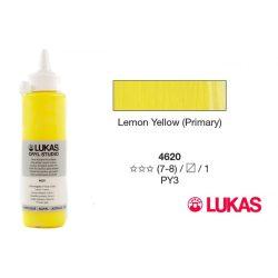 Lukas Cryl Studio citromsárga (Lemon Yellow Primary) 250 ml