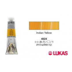 Lukas Cryl Studio indiai sárga akrilfesték, 75ml