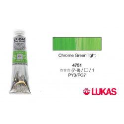 Lukas Cryl Studio krómzöld light akrilfesték, 75ml