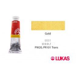 Lukas Terzia olajfesték, 37ml Gold