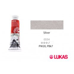 Lukas Terzia olajfesték, 37ml Silver