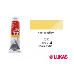 Lukas Terzia olajfesték, 37ml Naples Yellow