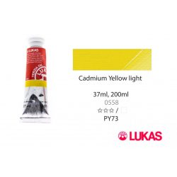 Lukas Terzia olajfesték, 37ml Cadmium Yellow Light (hue)