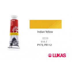Lukas Terzia olajfesték, 37ml Indian Yellow