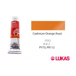 Lukas Terzia olajfesték, 37ml Cadmium Orange (hue)
