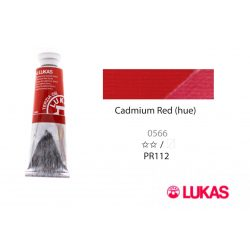 Lukas Terzia olajfesték, 37ml Cadmium Red (hue)