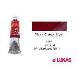 Lukas Terzia olajfesték, 37ml Alizarin Crimson(hue)