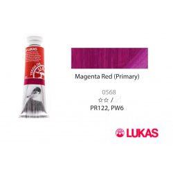Lukas Terzia olajfesték, 37ml Magenta Red (Primary)