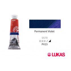Lukas Terzia olajfesték, 37ml Permanent Violet
