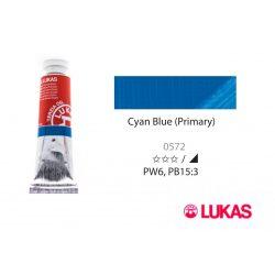 Lukas Terzia olajfesték, 37ml Cyan Blue (Primary)