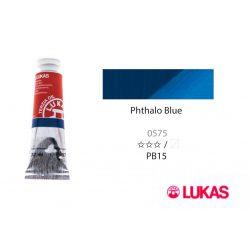 Lukas Terzia olajfesték, 37ml Phthalo Blue