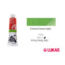 Lukas Terzia olajfesték, 37ml Chrome Green Light