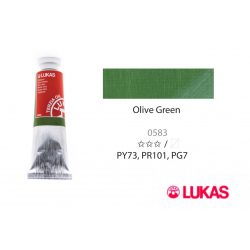 Lukas Terzia olajfesték, 37ml Olive Green