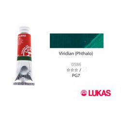 Lukas Terzia olajfesték, 37ml Viridian (Phthalo)