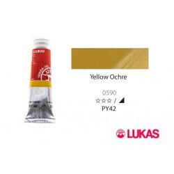 Lukas Terzia olajfesték, 37ml Yellow Ochre
