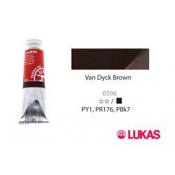 Lukas Terzia olajfesték, 37ml Van Dyck Brown