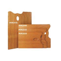 Paletta fából, téglalap 25x35cm MABEF