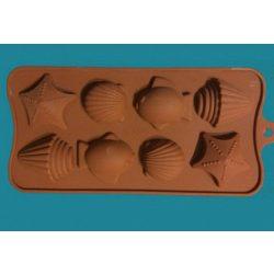 Szilikon forma 8db-os tengeri állatok
