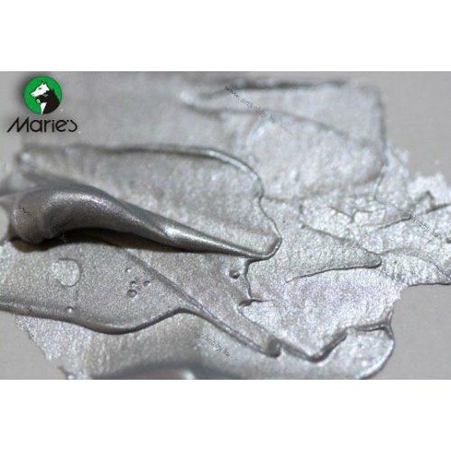 Maries akril 120ml, 121 Iridescent Silver - irizáló ezüst
