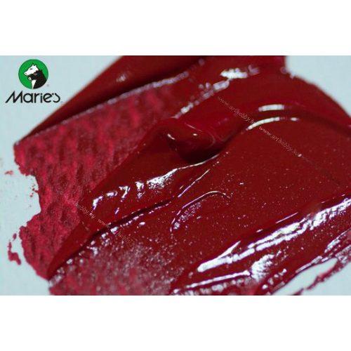 Maries akril 120ml, crimson red - karmazsinvörös