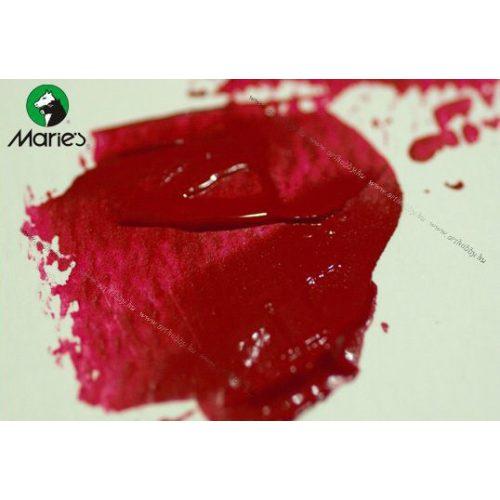 Maries akril 120ml, 341 Rose Permanent Crimson - bíbor rózsa