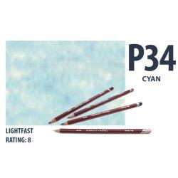Derwent pasztell ceruza  CYAN  2300263/P340