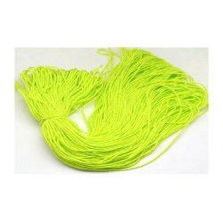 Paracord zsinór, sárgás-zöld, 2mm